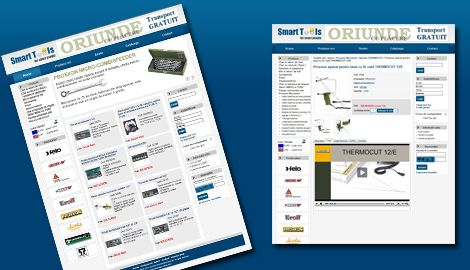 Magazin online - Smart ToolsWeb design Sibiu