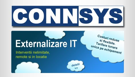 Website prezentare - ConnsysWeb design Sibiu